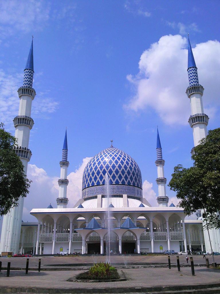 3d Picture Wallpaper Masjid Negeri Shah Alam Sultan Salahuddin Abdul Aziz