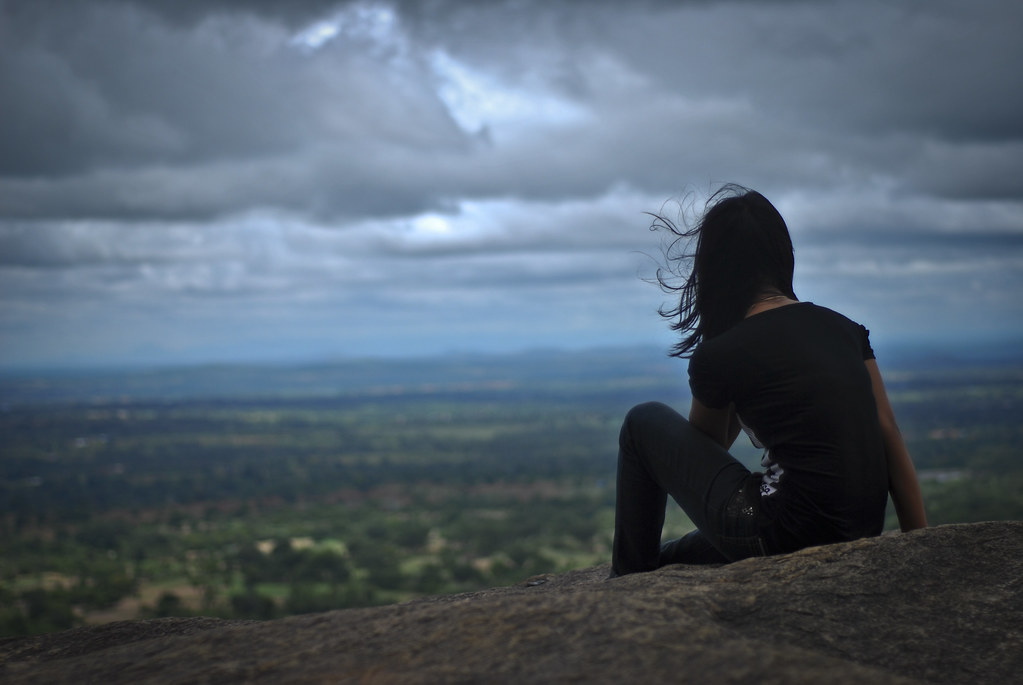 Alone Girl Wallpaper For Whatsapp Lonely At The Top Eh It Was A Long Arduous Trek To The
