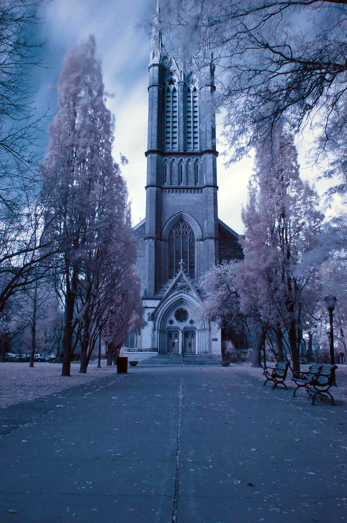 St Mikes Church - Infrared Dr Watson, I Presume?????? Flickr