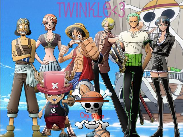 Dragon Ball Wallpaper 3d Luffy S Crew 01 This Is Nearly All Of Luffy S Gang From