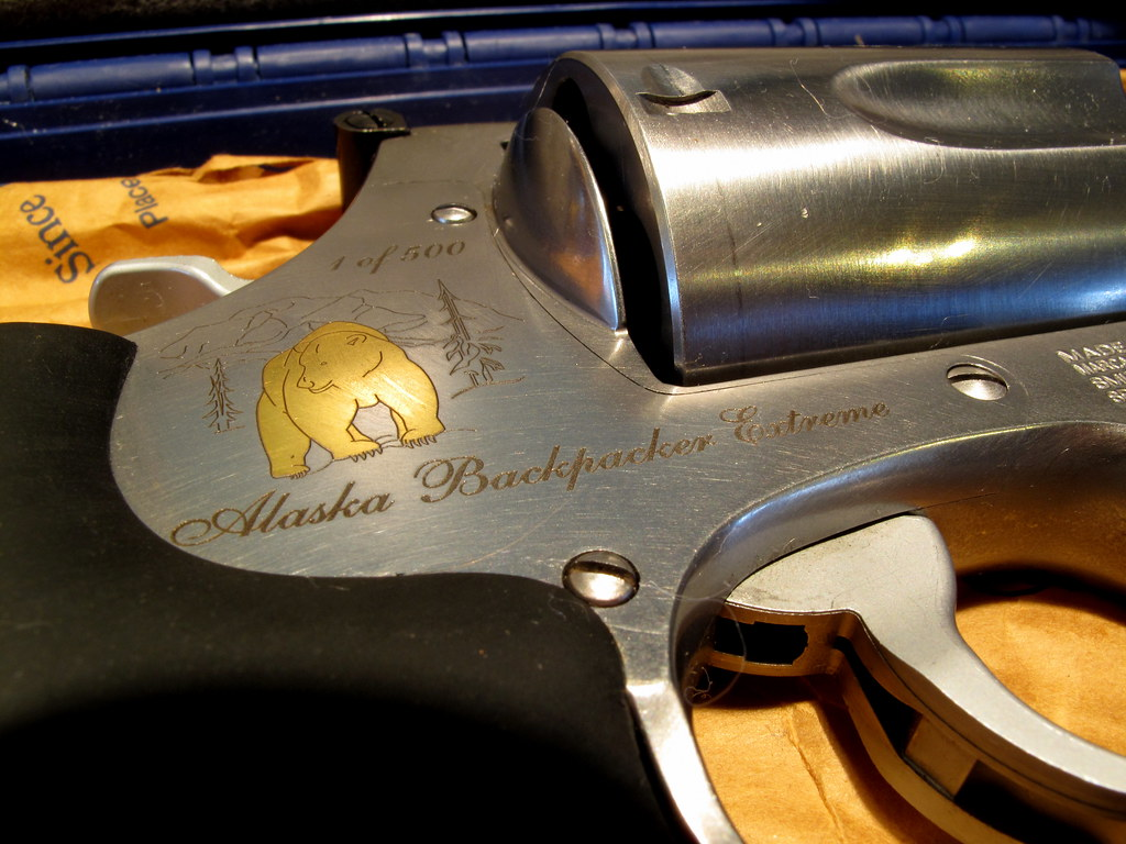 "Big B Limited Edition S&w 500, ""alaska Backpacker Extreme"" 
