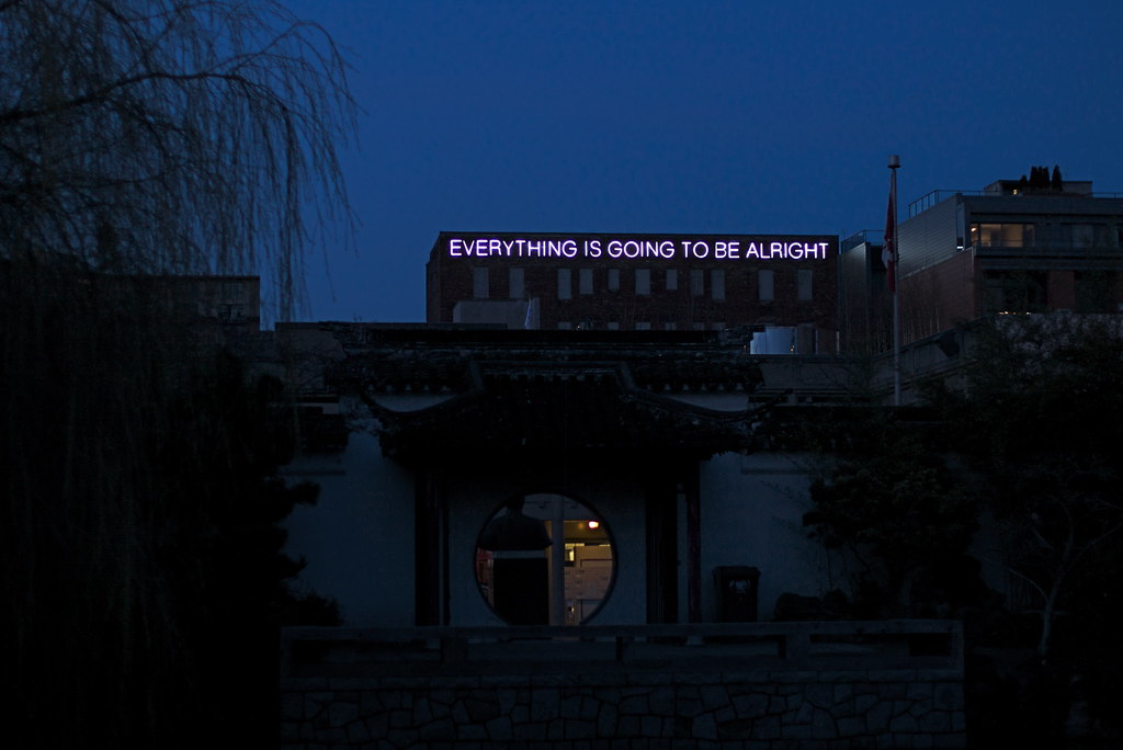 Black Aesthetic Wallpaper Everything Is Going To Be Alright It S A Sign Ryan