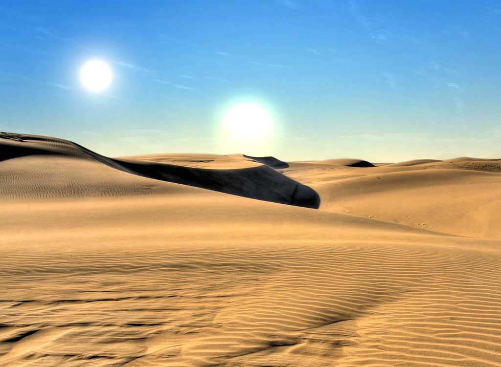 Some 3d Wallpapers Star Wars Tatooine Landscape This Composite Image Was