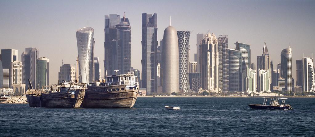 3d Interior Wallpaper Hd Doha Skyline Daniel Frauchiger Flickr