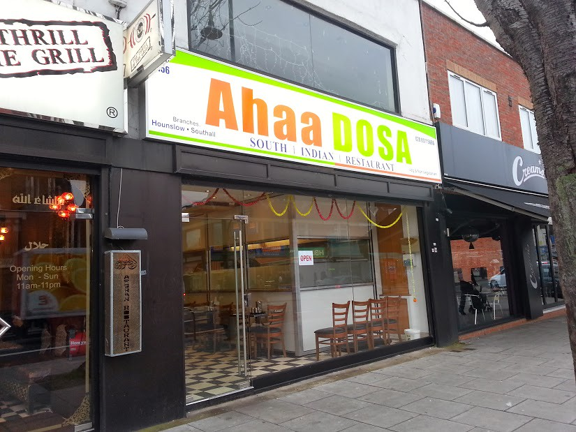 Ahaa Dosa Dosa cafe in Southall London The London Lettice Flickr - ahaa