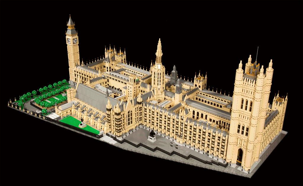 Victorian Wallpaper Black Moc Palace Of Westminster Brickset Lego Set Guide And