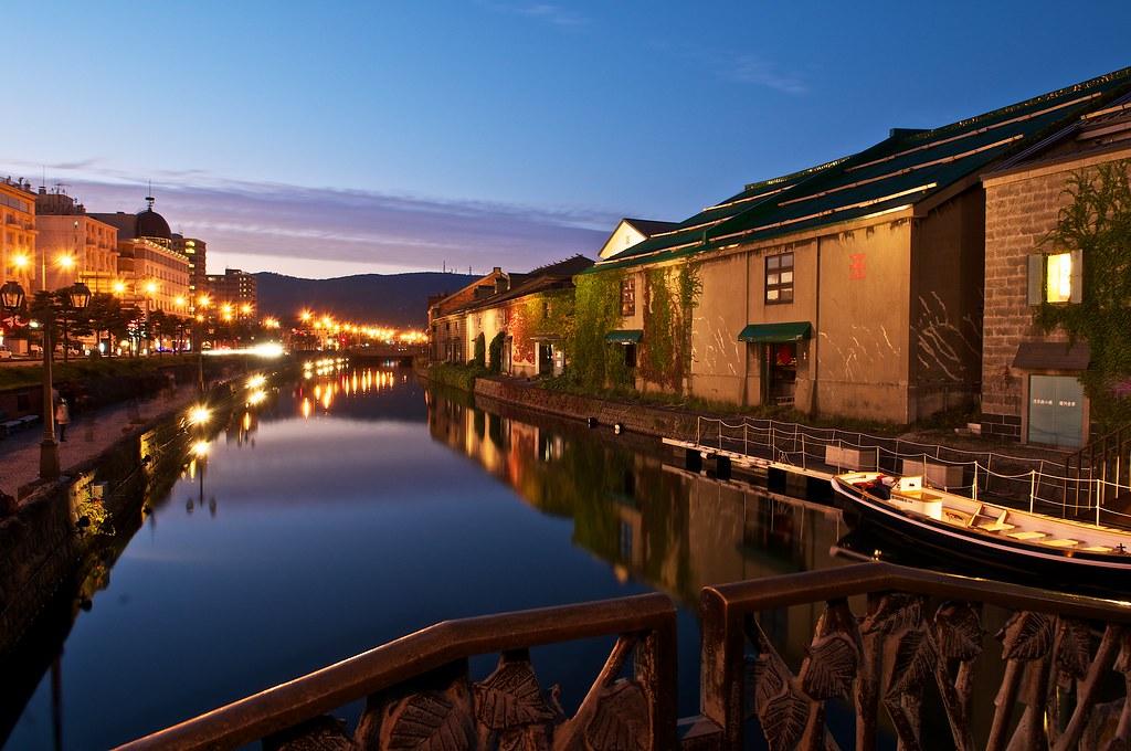 Beautiful 3d Wallpaper Otaru Canal Hokkaido I Went There Before Sunset And