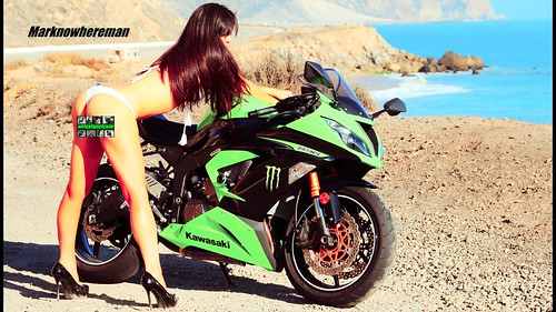 Asian Girl Wallpaper Kawasaki Ninja 636 Zx6r And The Sexy Korean 2013