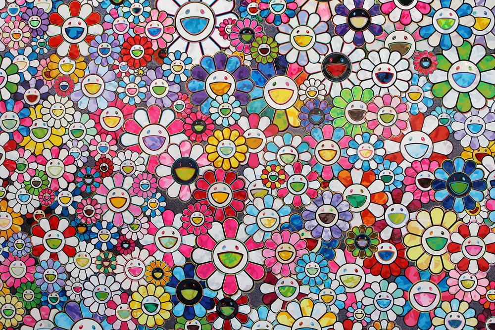 Free 3d Flower Wallpaper Takashi Murakami Fiac 2013 Paris Quot The Future Will Be