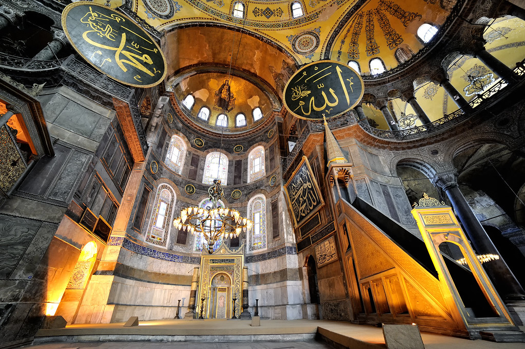 My Photo 3d Wallpaper Luminous Hagia Sophia Europe Turquie Istanbul