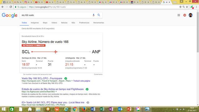 SKU166 - SCL / ANF - Google