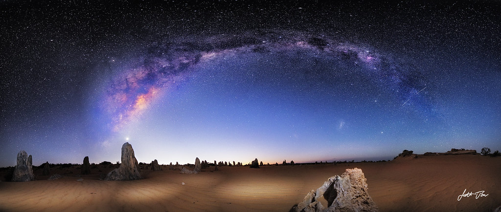 Good Night 3d Wallpaper The Pinnacles Western Australia This Picture Was Taken