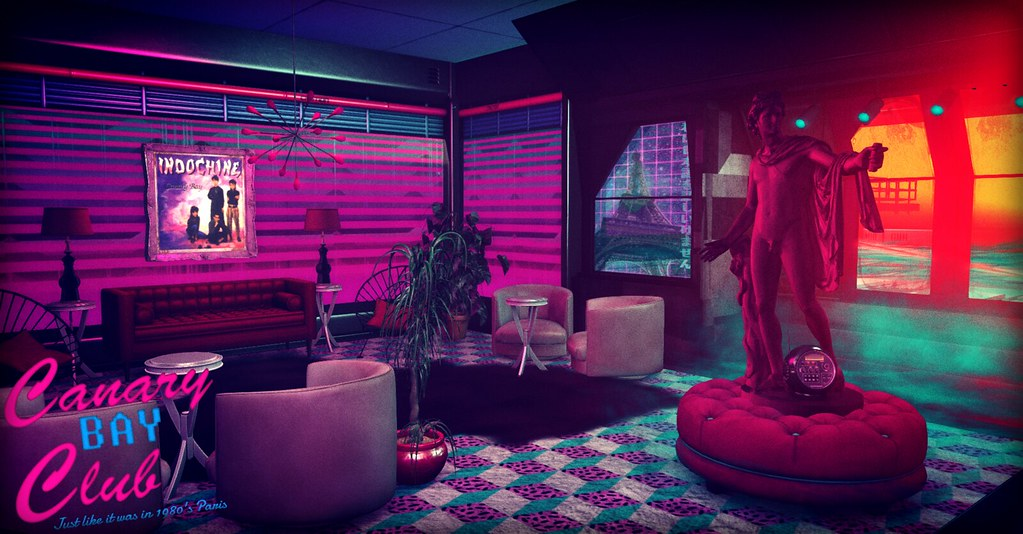 White Wave 3d Wallpaper Canary Bay Club New Retro Wave Synthwave Club Created