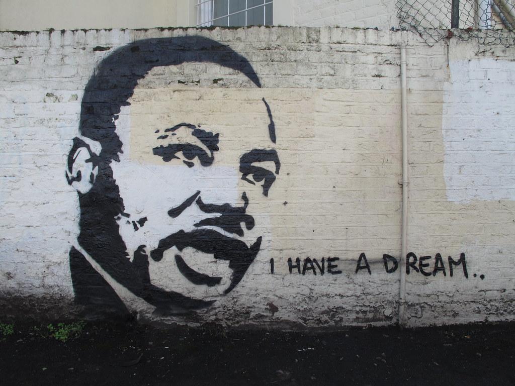 3d Street Art Graffiti Wallpaper I Have A Dream Duncan C Flickr