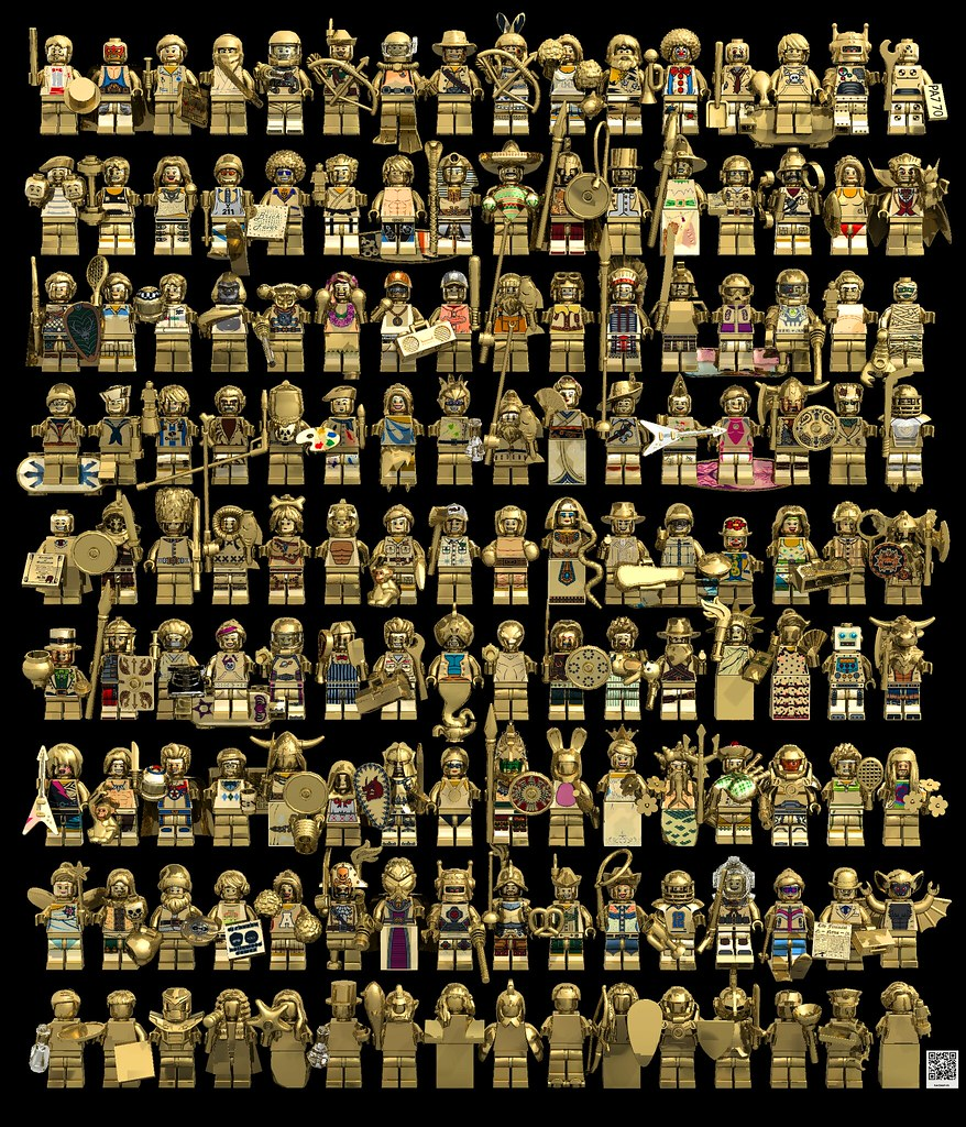 Ebay 3d Wallpaper Photo Lego Mr Gold Series F Nachapon S Flickr