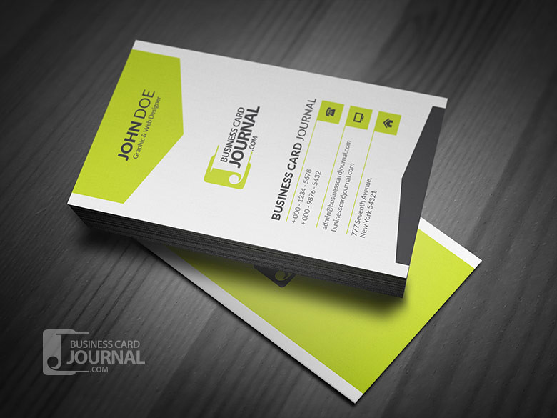 Corporate Style Vertical Business Card Template Download »\u2026 Flickr