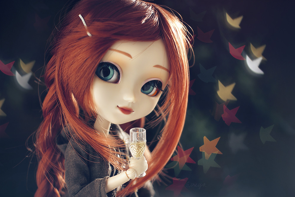 Cute Dolls Wallpapers With Quotes Happy New Year One Of My New Year S Resolutions Is Try