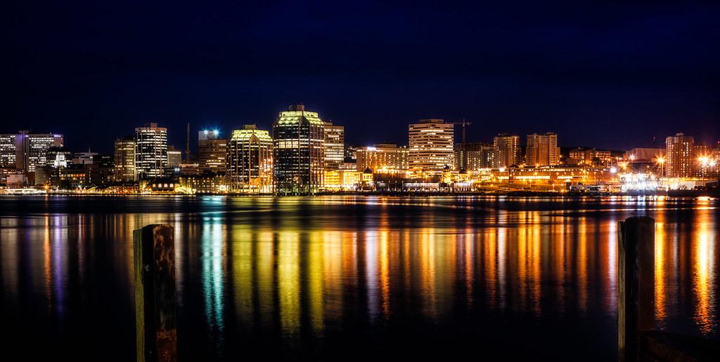 Fb Cover Hd Wallpaper Halifax Skyline At Night Pat O Malley Flickr