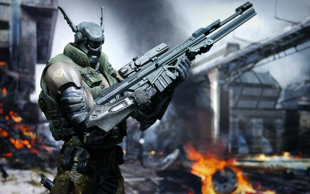 3d Animation Wallpaper For Android Mobile Appleseed Alpha Briareos Hecatonchires Play Arts Kai