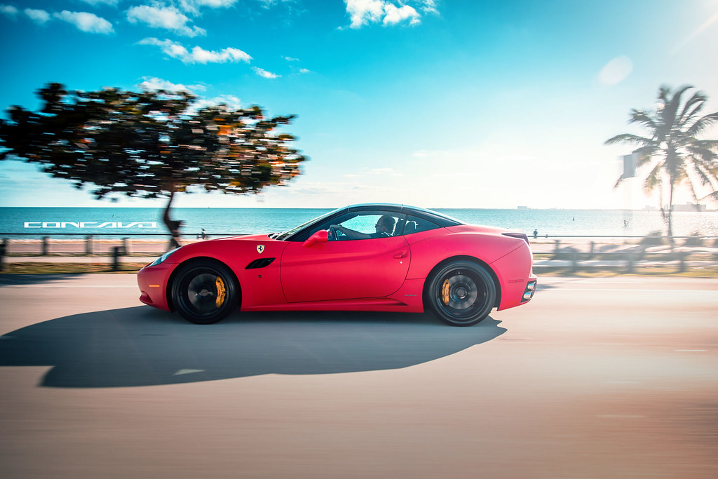 Matte Black Wallpaper Ferrari California Matte Red On Cw 12 Gloss Black Www