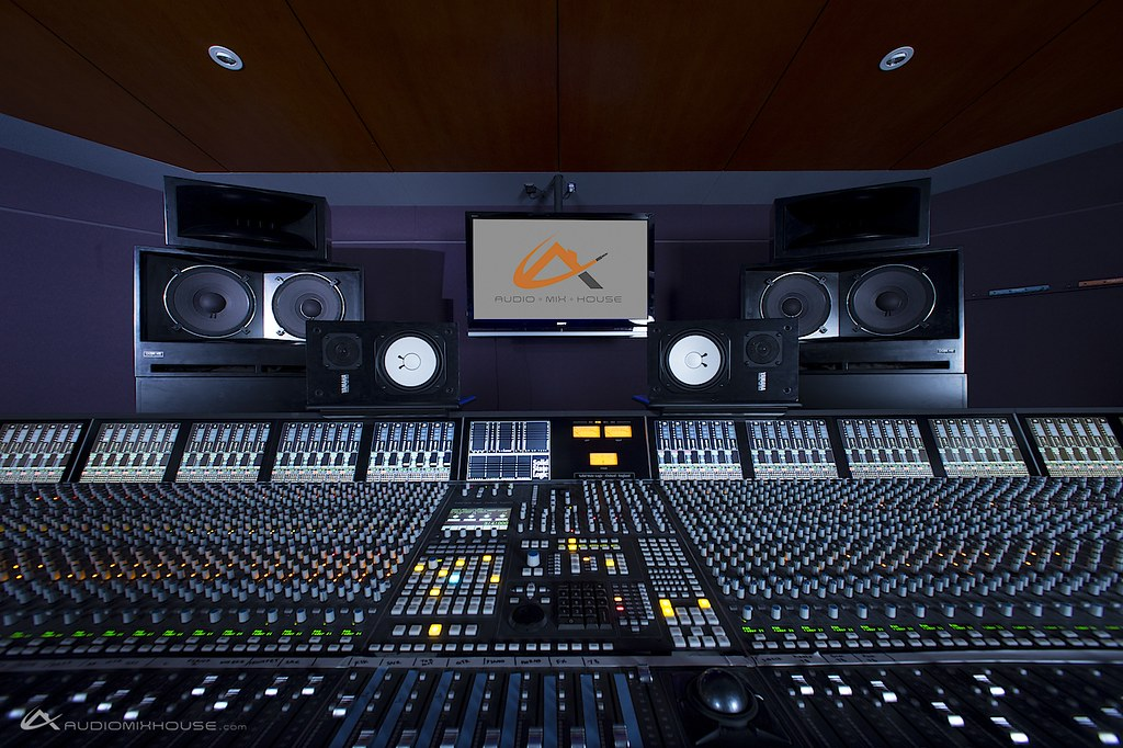 3d Yamaha Wallpaper 96 Channel Solid State Logic Ssl Duality At Audio Mix Ho