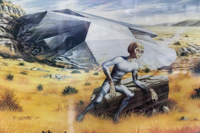 Alien 3d Wallpaper Painting Of The Roswell Ufo Incident Roswell Is Known