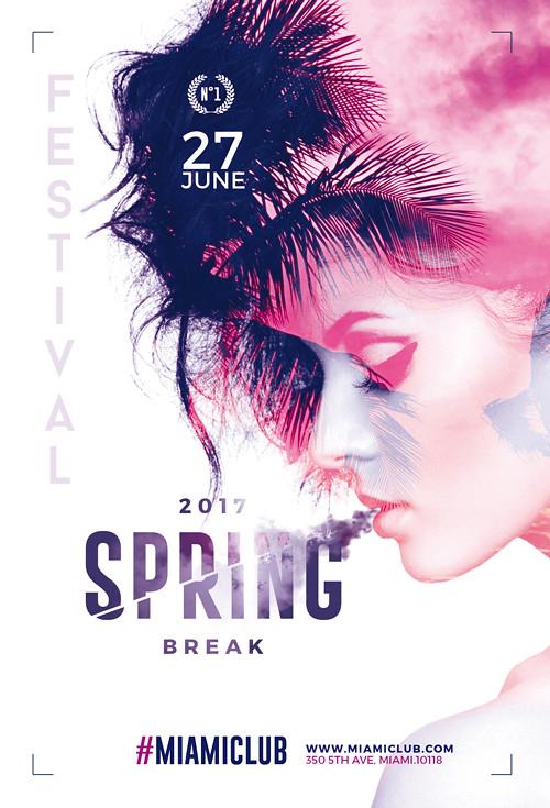 Spring Festival - Flyer Template Psd Flyer Templates Creat\u2026 Flickr - spring flyer template