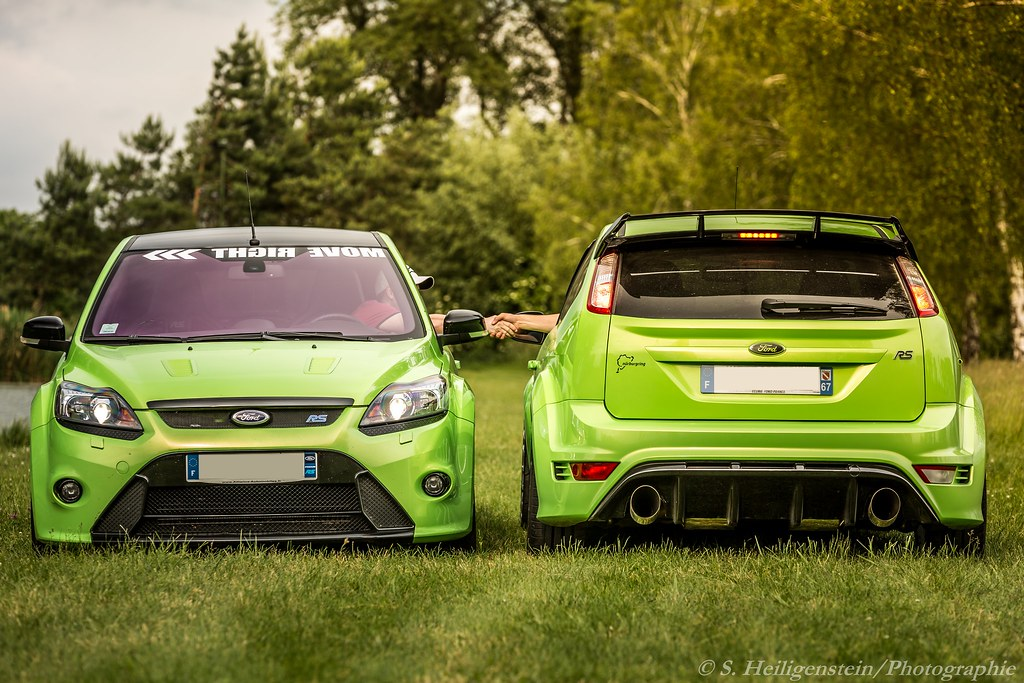 3d Roof Wallpaper Focus Rs Mk2 Green Ultimate S Heiligenstein