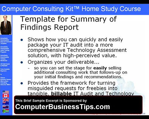 Computer Consulting Kit - IT Audit Consulting Report - Tem\u2026 Flickr - consulting report
