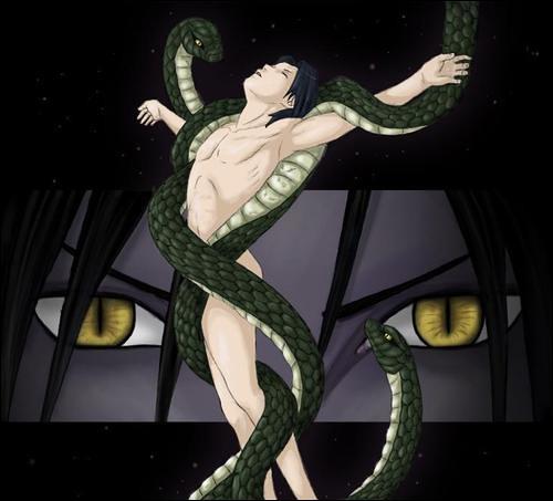 Naruto Wallpaper 3d Snake Sasuke A Lil Creepy But He Still Looks Hottt