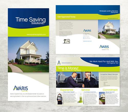 Avaris Real Estate Brochure print, print design, flyers, b\u2026 Flickr