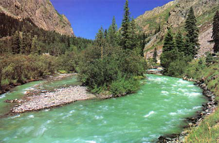 Farooq 3d Name Wallpapers River Swat Kalam A Scanned Image From My Private Old