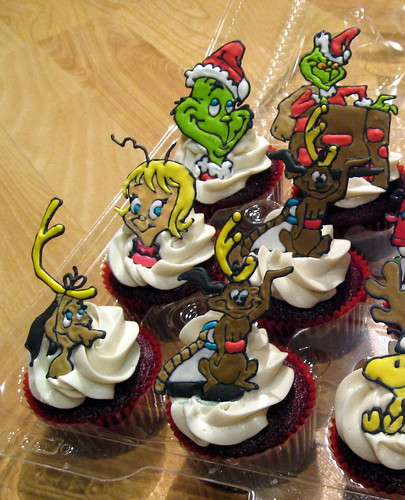 Birthday Cake Wallpaper 3d The Grinch Who Stole Christmas Cupcakes Michelle Flickr