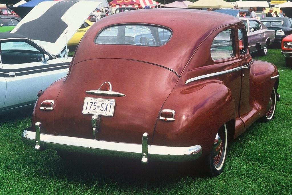1947 Dodge 2 Door Sedan Wiring Schematic Diagram