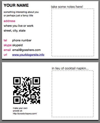 Functional About Card layout The FAC is a business card te\u2026 Flickr
