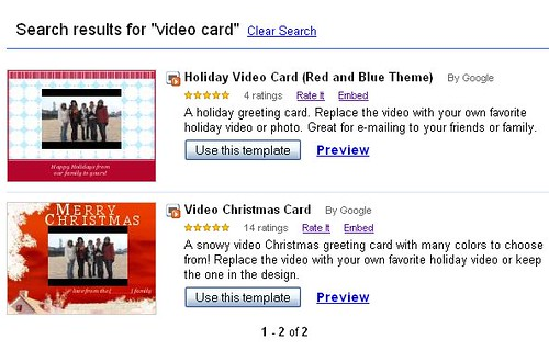 Template for Video Holiday Card From Google Docs template \u2026 Flickr