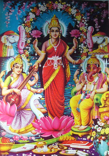 Ganapati Wallpaper 3d Laxmi Saraswati Ganesh Laxmi Saraswati Ganesh Flickr