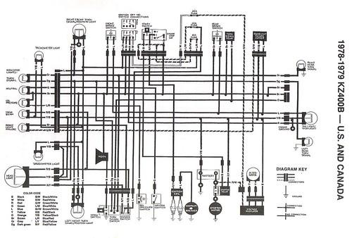 79 kz400 wiring diagram