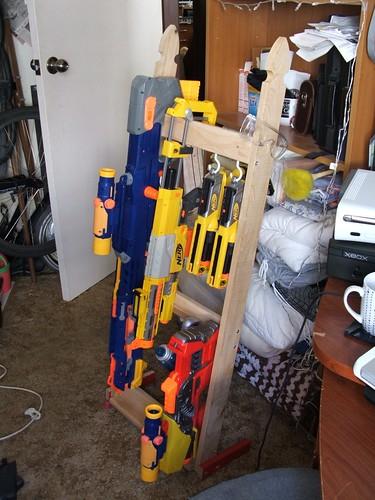 storage rack can be nice