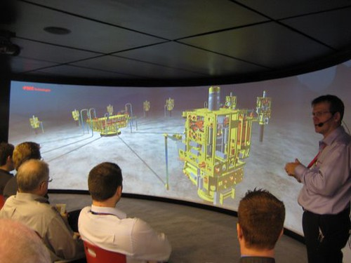 Animated Presentation at FMC Technologies Booth Offshore T\u2026 Flickr