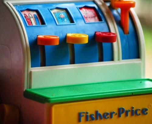 Medium Of Fisher Price Cash Register