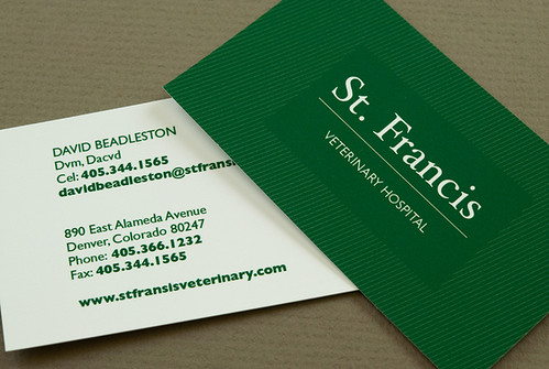 Green Veterinary Business Card Green Veterinary Business C\u2026 Flickr