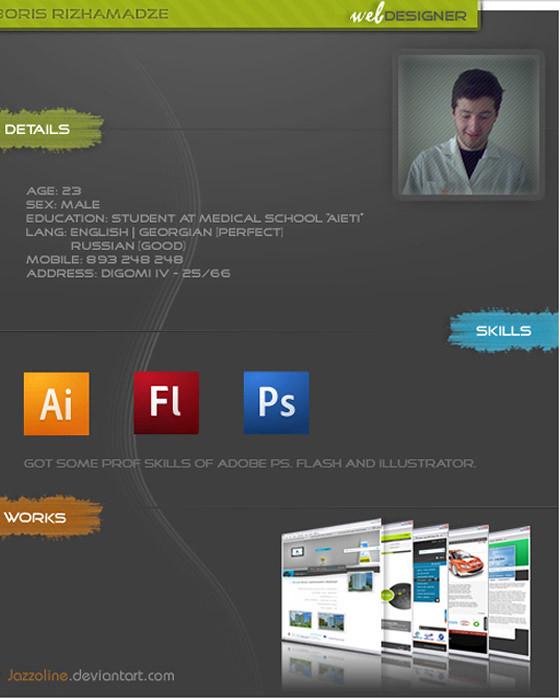 cv Resume Design Inspiration A creative resume is fairly i\u2026 Flickr