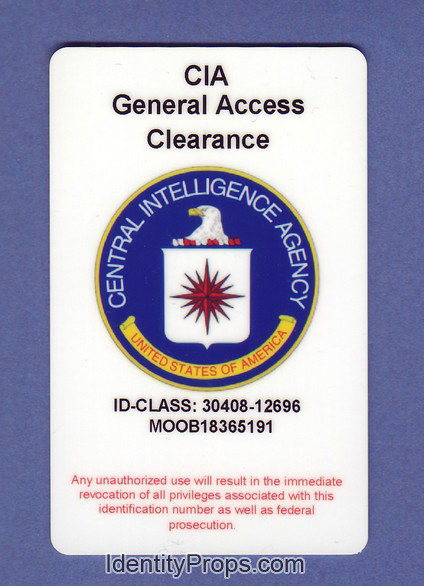 CIA central intelligence agency general access clearance I\u2026 Flickr