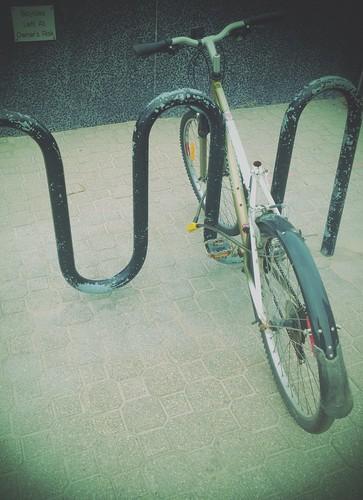 June In Winnipeg 03 30 Bike Rack Arlo Bates Flickr