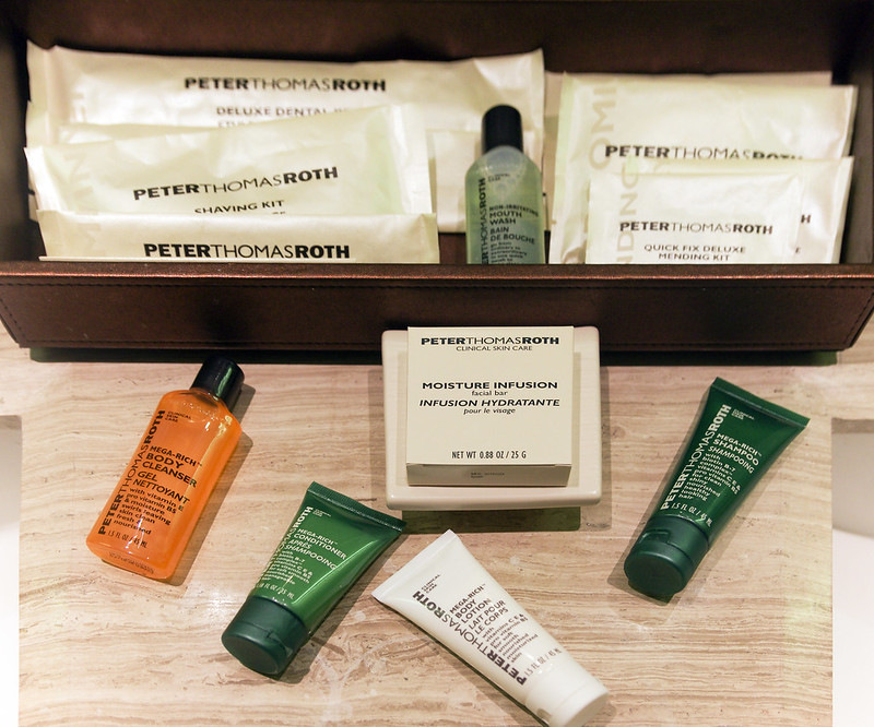 bathroom toiletries - hilton sukhumvit bangkok
