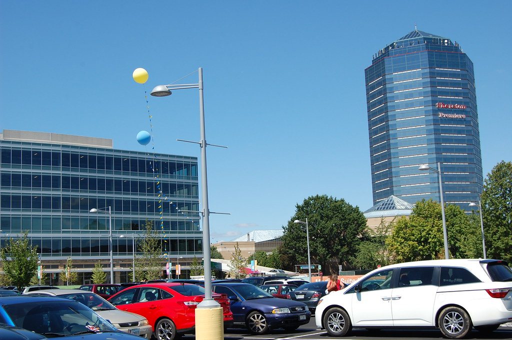 Walmart and Sheraton at Tysons West The urban-style Walmar\u2026 Flickr