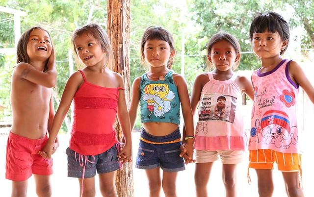 indigenas. Foto: Ana Aranha