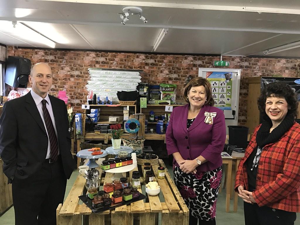 22 February 2017 Lord Lieutenant Visits Edible