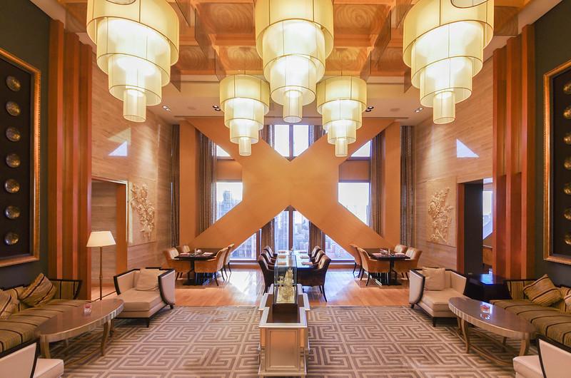 fairmont gold lounge in fairmont beijing